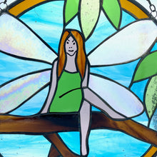 Load image into Gallery viewer, Stained Glass - Garden Fairy