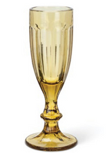 Load image into Gallery viewer, Amber Wine Glass