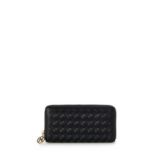 Load image into Gallery viewer, Liv Woven Wallet - Black