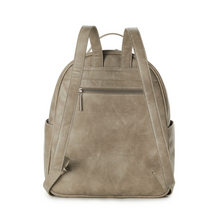 Load image into Gallery viewer, Autumn Textured Front Backpack - Cement