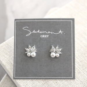 Anette Earrings - Silver