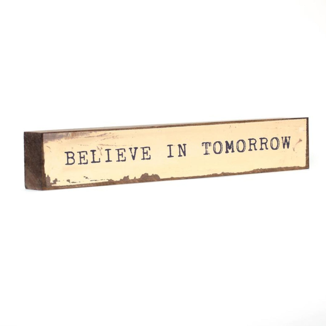 Believe In Tomorrow - Timber Bit