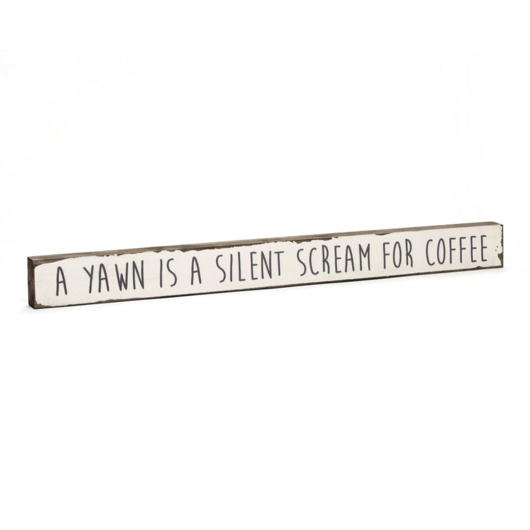 Scream For Coffee - Timber Bit