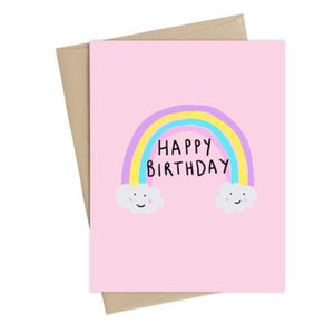 Birthday Rainbow - Card