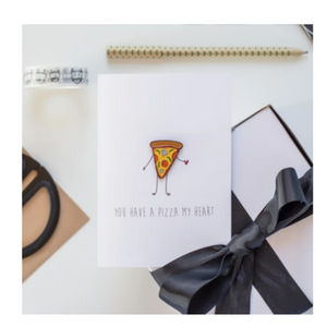 Pizza - Card with Pin