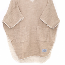 Load image into Gallery viewer, Cocoon Women's Surf Poncho - Tan