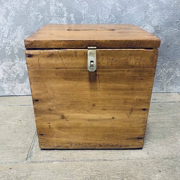 Wood Ballot Box