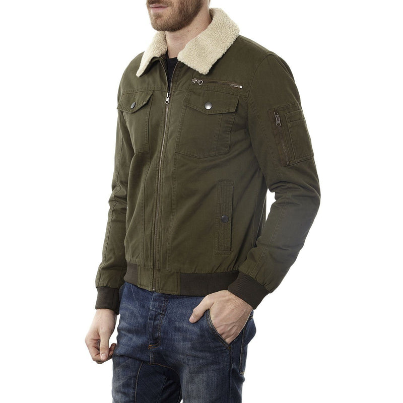 Maverick Cotton Aviator Jacket - Xoomkart