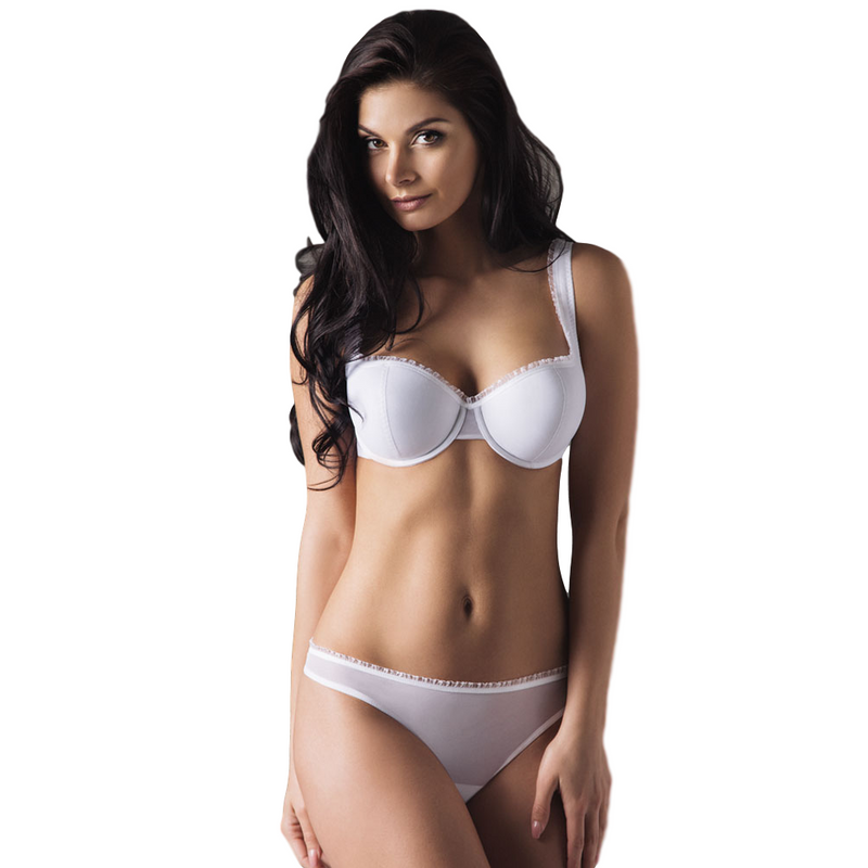 Lightly Padded Demi Cup Bra Tango - Xoomkart