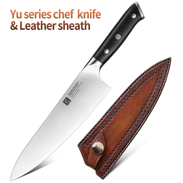 XINZUO 8.5'' inch Chef Knife High Carbon Din 1.4116 Slicing Stainless - Xoomkart