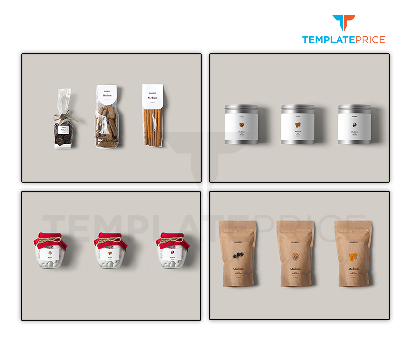 Products Packging Mockup