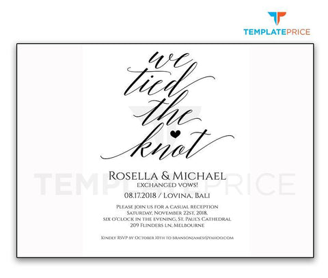 OK Elepoment Invitation template
