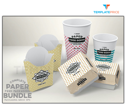 Fast food Takeaway Packaging Box - templateprice