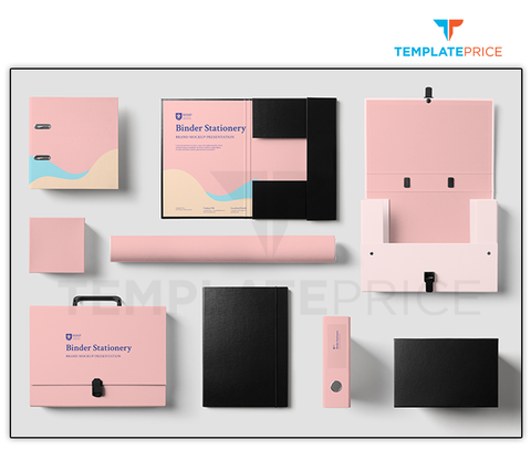 Stationery Mockup - templateprice