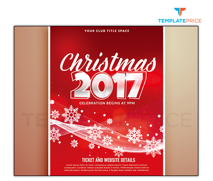 Christmas Party Banner - templateprice