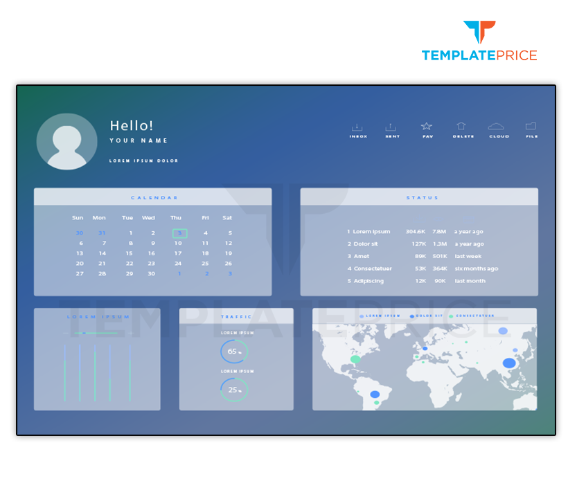 Dashboard Design - templateprice