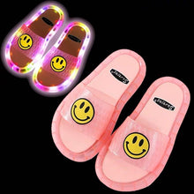 Load image into Gallery viewer, 🔥HOT SALE🔥Smile LED Light Soft Base Slipper
