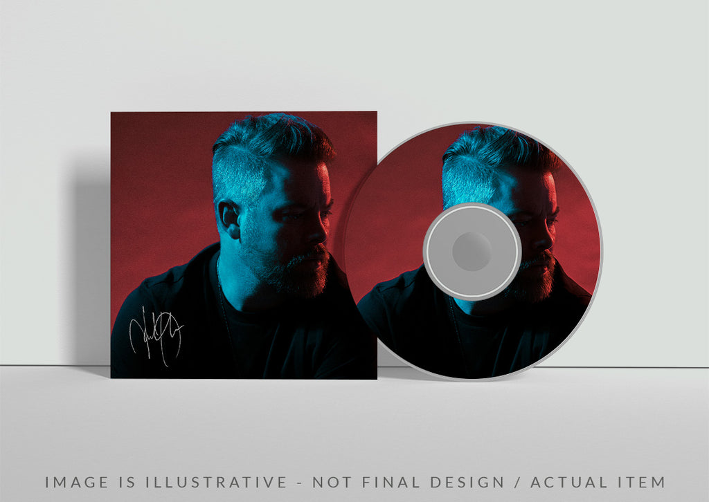 David Cook New EP: CD, signed (illustrative)