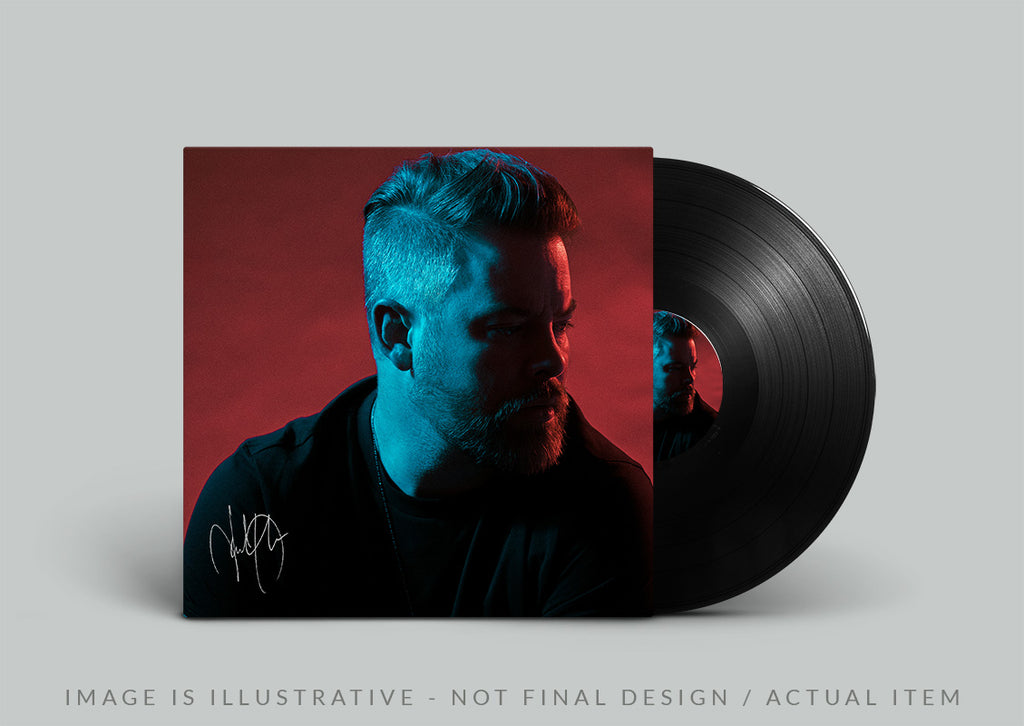 David Cook New EP - Vinyl, signed (illustrative)