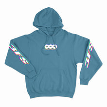 Load image into Gallery viewer, RGB Glitch Graphic Hoodie