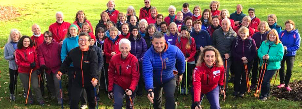British Nordic Walking Instructor training