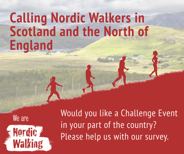 Exel Nordic Walking Challenge Event Scotland