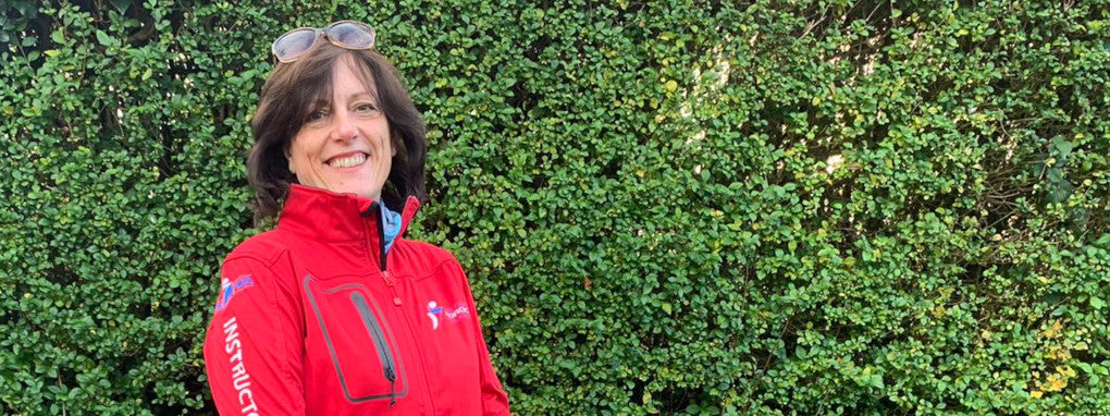 Hatti Bell British Nordic Walking instructor