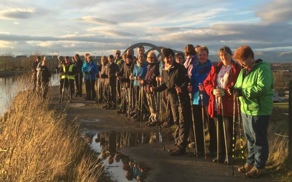 Nordic Walking Falkirk Paths for All Step Forth