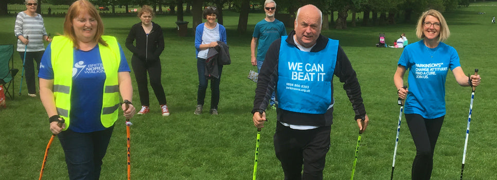 Nordic Walking and Parkinson's group