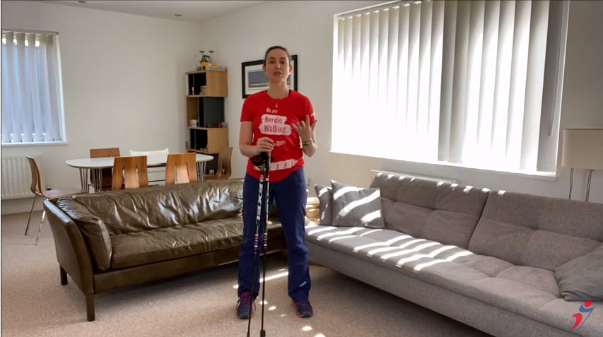British Nordic Walking INWA exercises for people with Parkinson's
