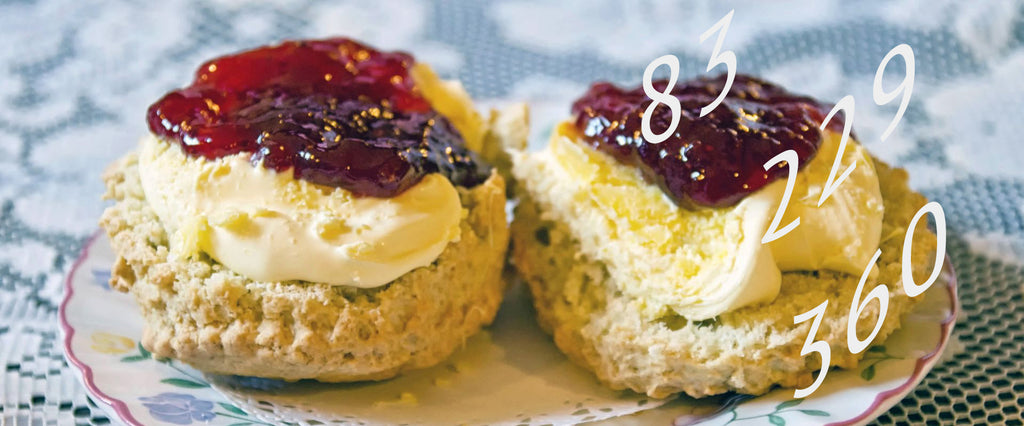 Calories in a cream tea