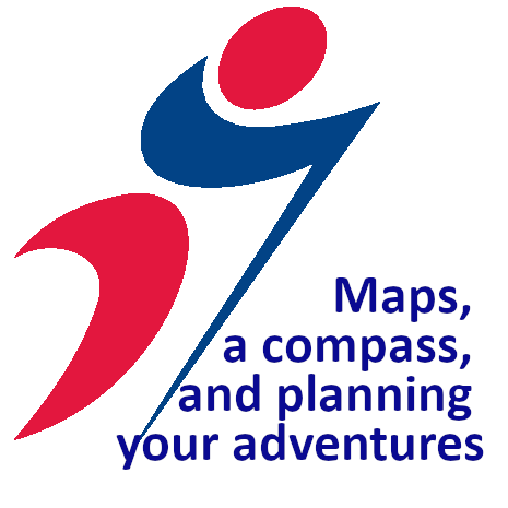 Maps, a compass, and planning your adventures