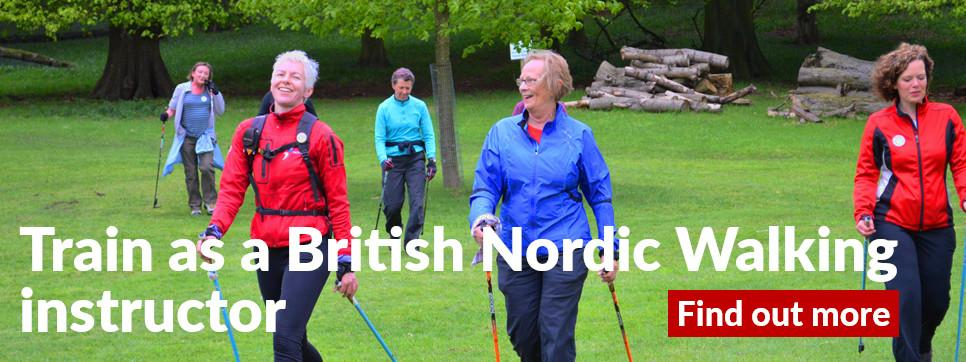 Get Britain Nordic Walking for Better Health