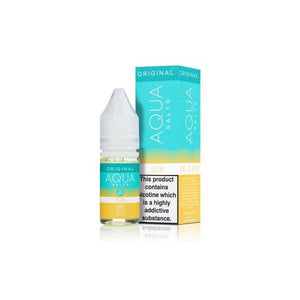 Aqua Original by Marina Vape Flavoured 20mg Nic Salts (50VG/50PG) 10ml
