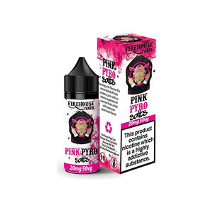 Firehouse Flavoured 20mg Salt Nic (50VG/50PG) 10ml