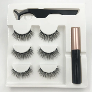 3d Magnetic Eyelashes - Waterproof Magnetic Eyeliner and Tweezers - Ainnabila ∣ Underwear Storage Box Compartment