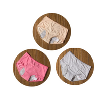 Load image into Gallery viewer, 3pcs/Set Menstrual Panties Period Leak Proof Incontinence Underwear - Ainnabila ∣ Underwear Storage Box Compartment