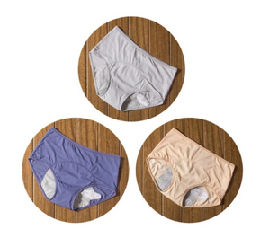 3pcs/Set Menstrual Panties Period Leak Proof Incontinence Underwear - Ainnabila ∣ Underwear Storage Box Compartment