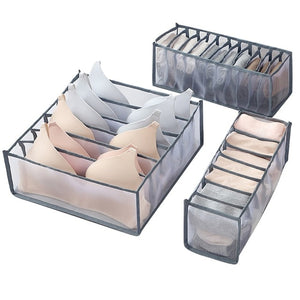 Flexible Underwear Storage Box Compartment - Ainnabila ∣ Underwear Storage Box Compartment