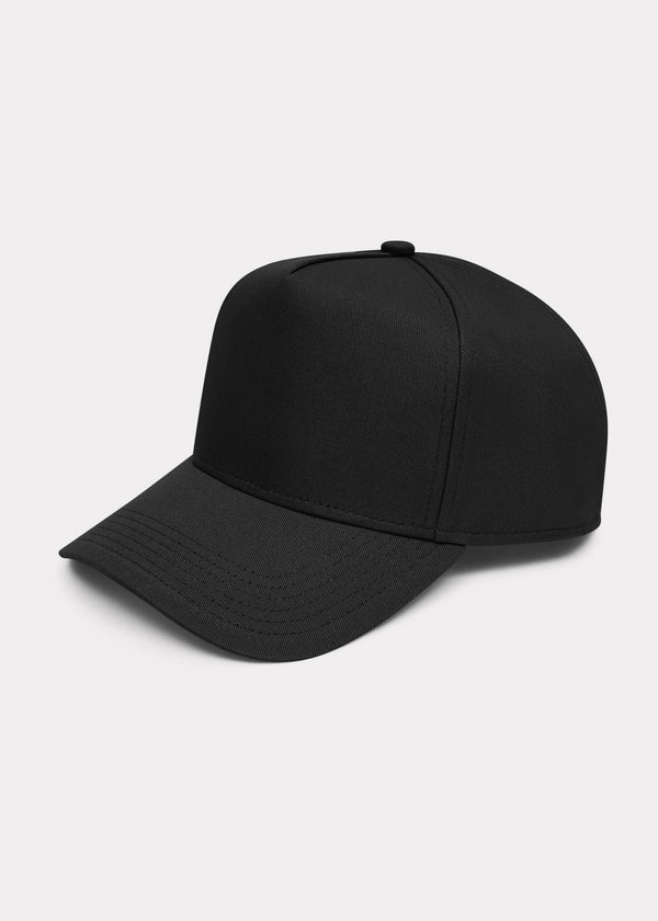 PLAIN CAP - BLACK