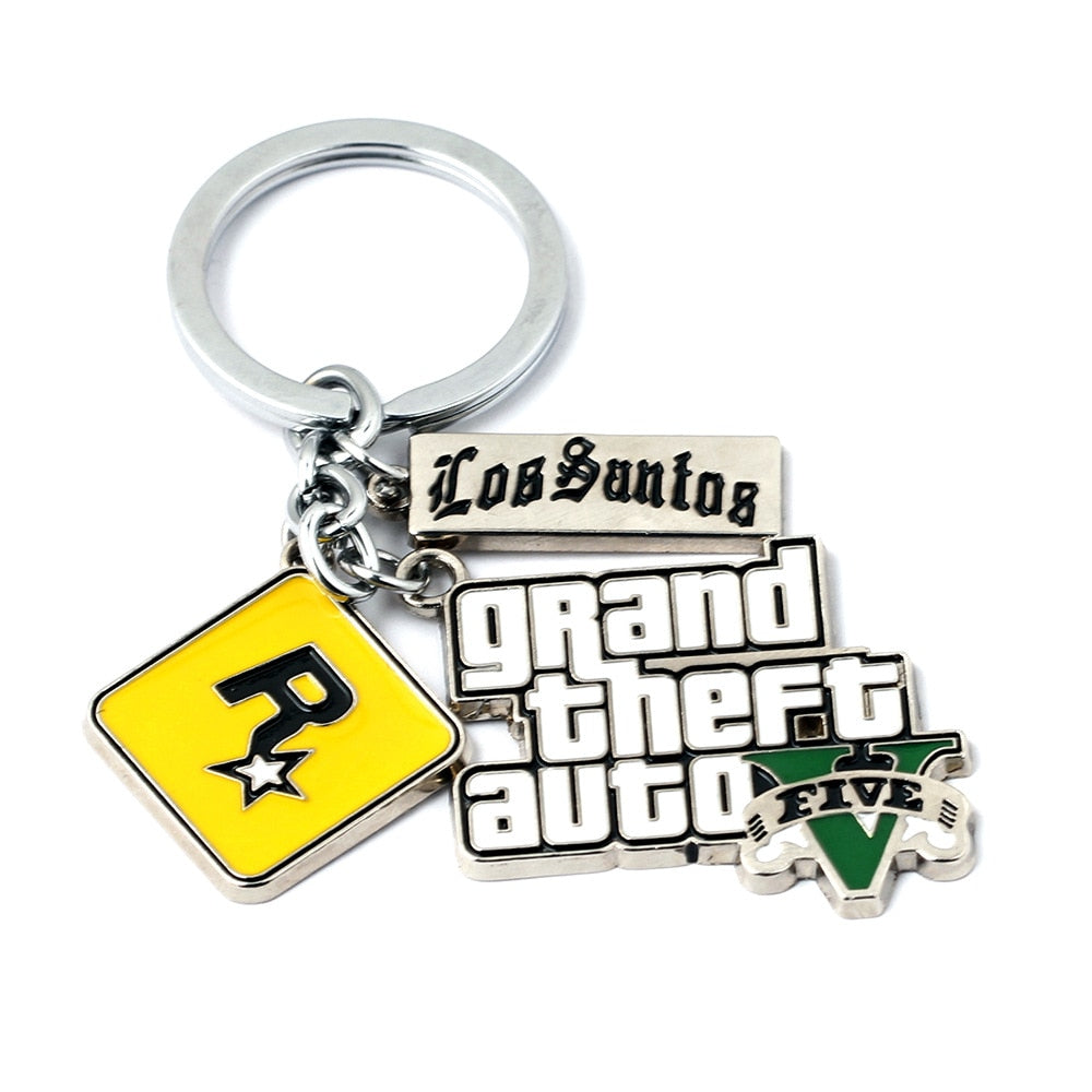Grand Theft Auto Assorted Keychains