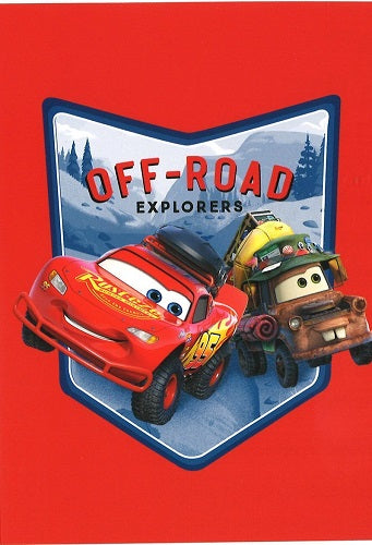 Off road explorers, 1 -osainen postikortti, Disney