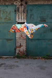 Luxury Silk Scarf 'FINDING UNICORN'