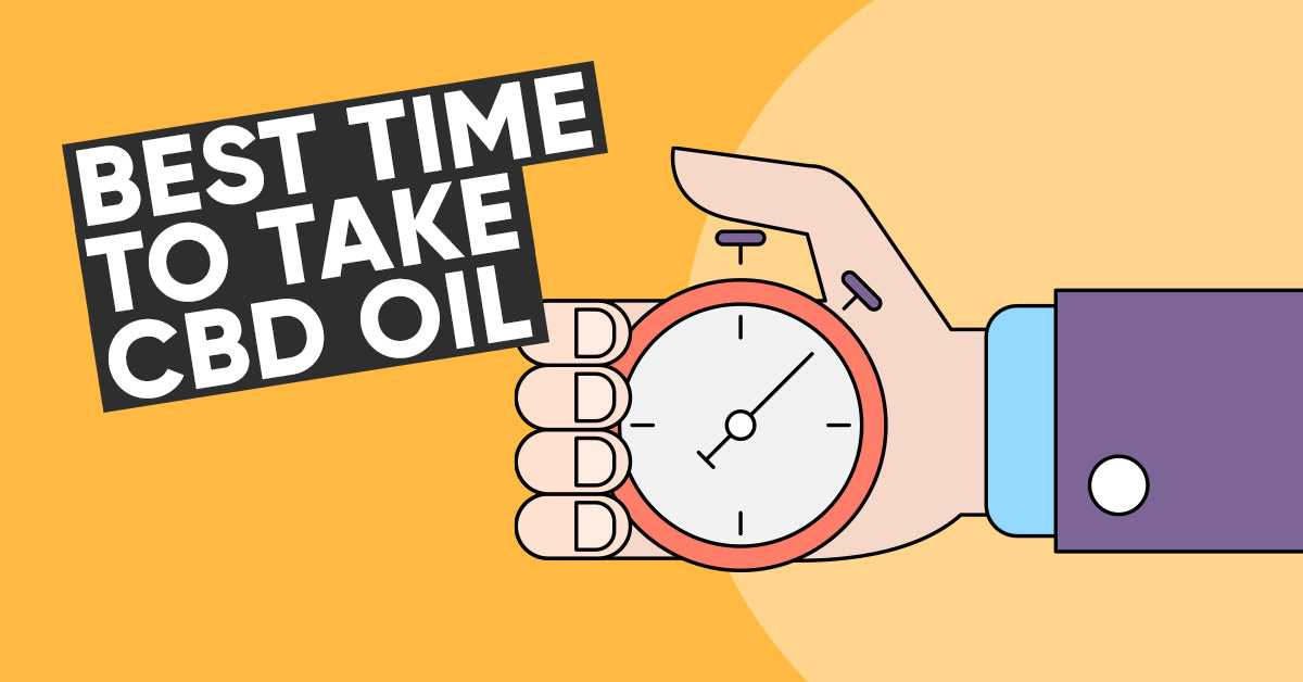 Best time to take CBD oil
