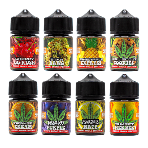 Weed flavoured vapes