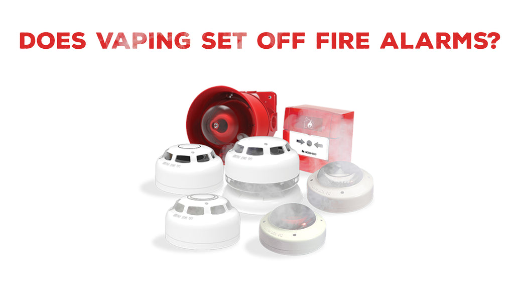 Does vaping set off fire alarms?
