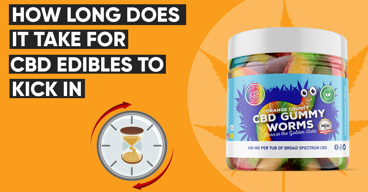 HOW LONG DOES IT TAKE FOR CBD EDIBLES TO KICK IN?