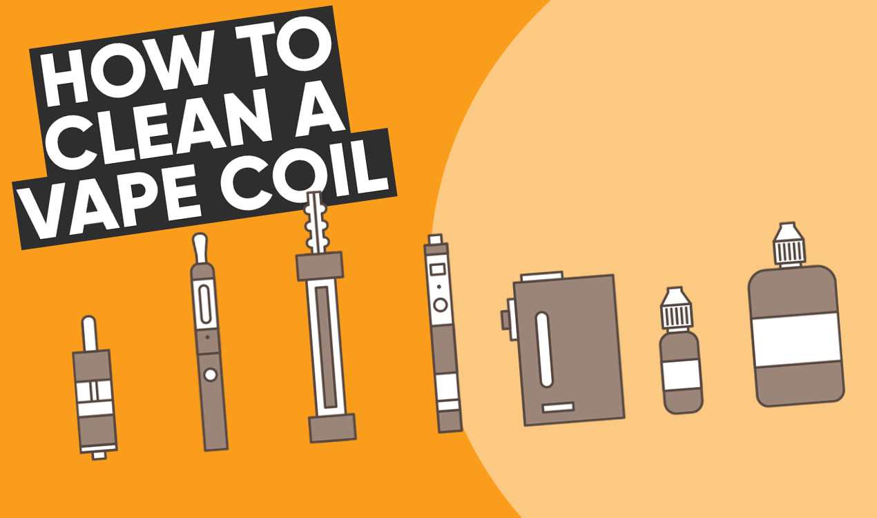 How to clean a vape coil guide