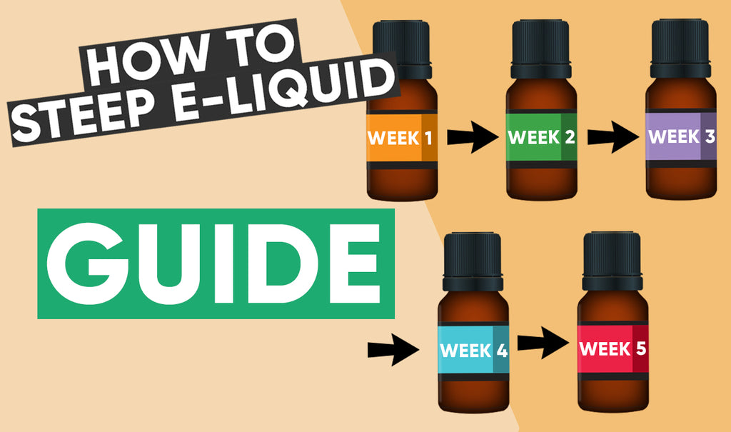 How to steep E-liquid guide
