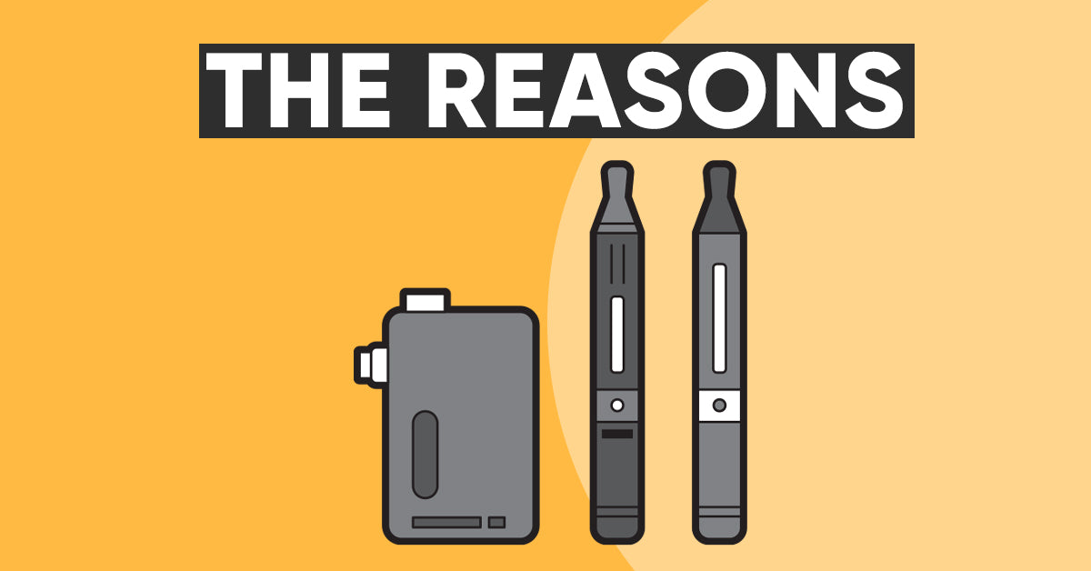 The reasons your vape is spitting